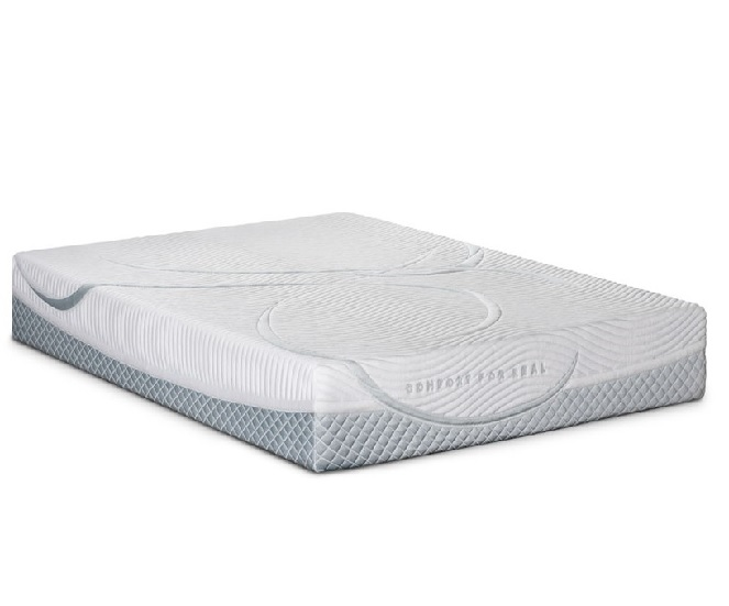 Restonic Real Comfort Luxury Hybrid Mattress bed in a box