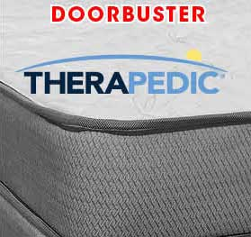 Firm Therapedic Ortho Comfort queen mattress set now only $399