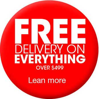 Free shipping/delivery on all orders over $499 from American Mattress