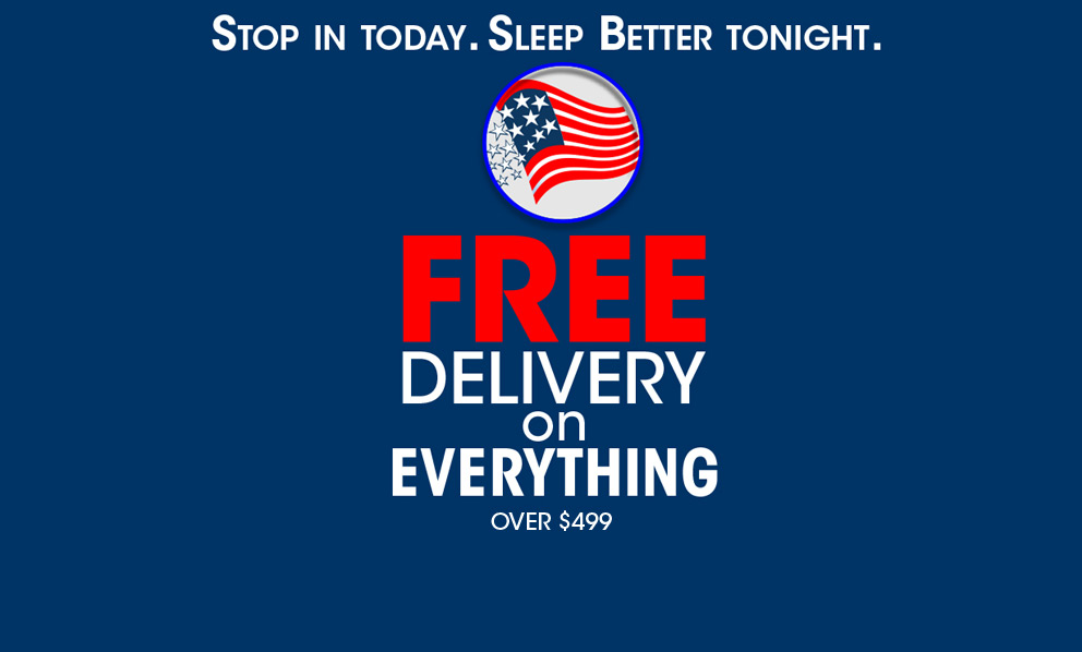 Free Delivery On Everything! Sunday delivery now available