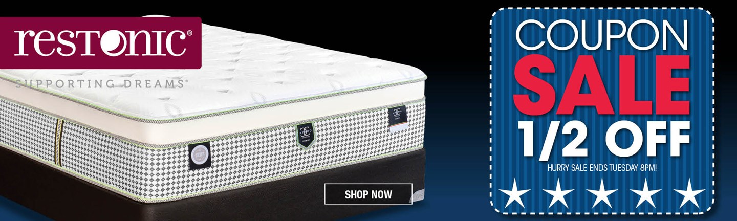 Restonic Queen Mattress set
