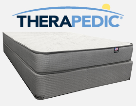Therapedic Plush Queen Mattress at American Mattress