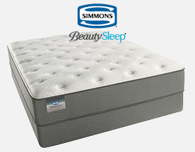 Simmons BeautySleep Plush Queen Matress now only $799 at American Mattress