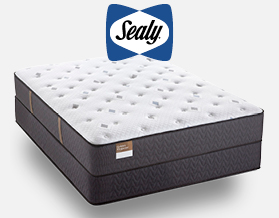 Sealy Cushion Firm Queen Matress now only $999 at American Mattress